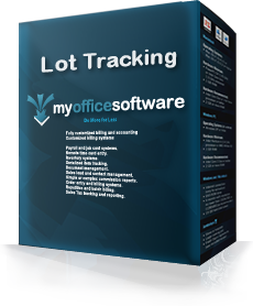 Lot Tracking